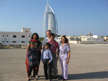 Ein Blick auf Burj al Arab