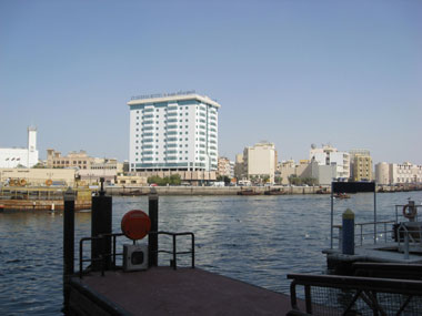 Blick auf den Stadtteil Al Buteen